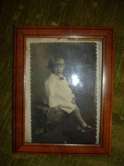 Старинная рамка для фото,дерево.стекло,