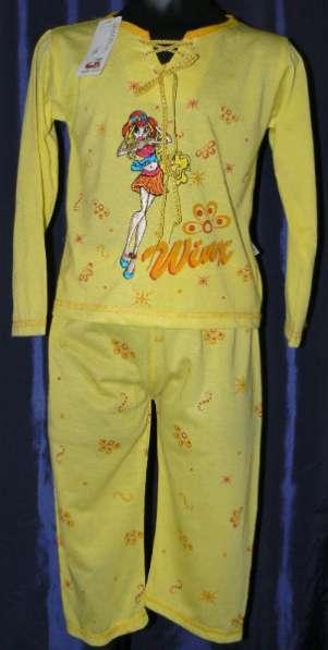 Пижамы новые Вингс для девочек