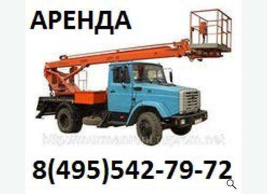 Аренда автовышки в Москве фото 3