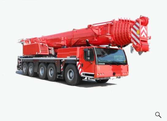 Аренда автокрана 200 тонн 72(115) метров Liebherr LTM1200
