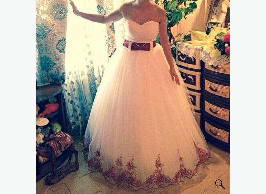 Продам свадебное платье в Рязани
