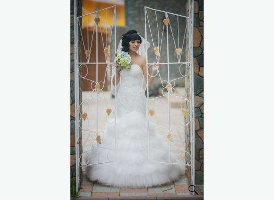 Свадебное платье в Новосибирске фото 4