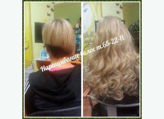 наращивание волос в Иркутске фото 3