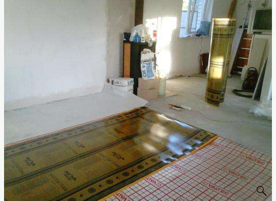 Полотно Ориентал Дрим. Тёплый пол. Отопление дома в Саратове фото 11