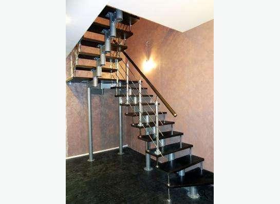 Современная, стильная, надежная лестница в Москве фото 11
