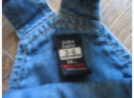 Продам детский джинсовый комбинзон zara в Новосибирске фото 4