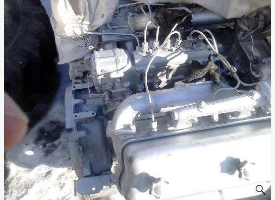 б/у двигатель ЯМЗ 236