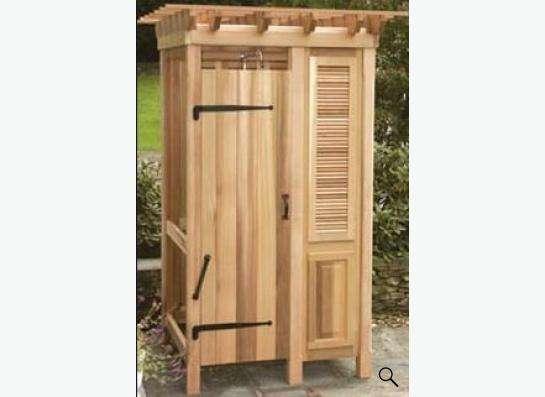Душевые кабины деревянные