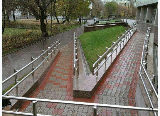 Пандус для людей с ограниченными возможностями в Красноярске фото 5