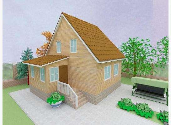 Готовый проект дома 1-3
