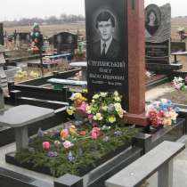 Памятники из гранита и мрамора, в Ростове-на-Дону