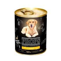 PROPS Консервы мясные для собак с уткой, 338 гр, в Санкт-Петербурге