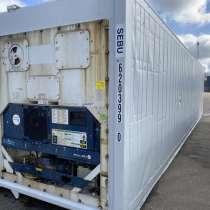 Рефконтейнер 40 фут Carrier 2002 г. из Иркутска №6203990, в г.Дархан