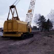 Аренда гусеничного крана РДК-25, в Иркутске