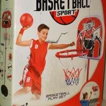 Баскетбольная стойка, регулируемая по высоте Basketball крас, в Москве