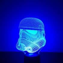 Светодиодный 3Д ночник, в г.Череповец