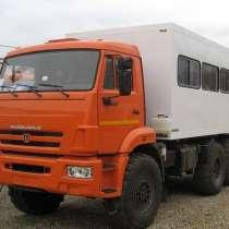 Вахтовый автобус КАМАЗ 6х6, камаз 4х4, в Тюмени
