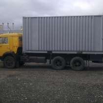 КАМАЗ кабина жолтого цвета кузов контейнер, в г.Москва