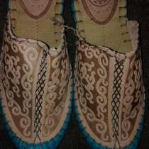 Тапочки, натуральная кожа, бурятские, монгольские, в Иркутске