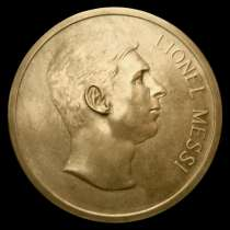 Медаль футболиста месси, в г.Киев