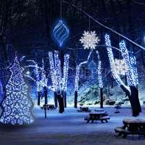 Новогодняя иллюминация домов, офисов и магазинов, в г.Владимир