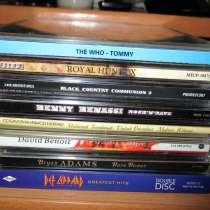 СД диски(фирменные и лицензионные) - рок, джаз, классика, в Коломне