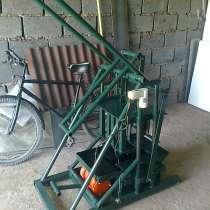 Продаю пескаблочные мини станки на 2 блока, в г.Бишкек
