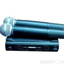 Микрофон SHURE SM58 радиосистема 2 мик., в г.Москва