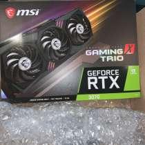 MSi GeForce RTX 3070 Trio 8GB Gaming Graphics, в г.Russi