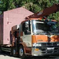 Перевезу гараж, вагончик, киоск, павильон, ёмкость, в Новосибирске