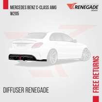 Difusor traseiro da Mercedes-Benz C-Class AMG W, в г.Жундиаи