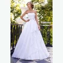Нежное свадебное платье коллекция 2015, в Москве