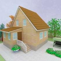 Готовый проект дома 1-3, в Омске