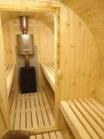 Роскошная баня бочка, в Краснодаре