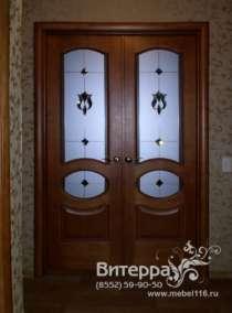 Двери с фацетными элементами, в Набережных Челнах