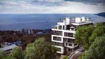 Двухуровневая квартира с шикарным видом на море в Ялте, в г.Ялта