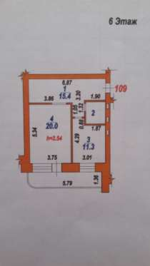 Продажа 1-комнатной квартиры, в Иванове