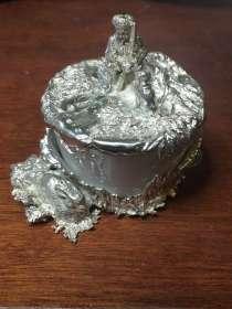 Солонка (фарфор, серебро), в Санкт-Петербурге