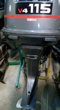 Продам лодочный мотор YAMAHA 115, Высота транца L (508 мм), в Владивостоке