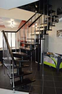 Лестница на второй этаж, в Липецке