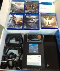 Playstation 4 500GB + 2 Контроллеры и 10 игр бесплатно, в Казани