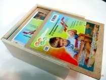 Знаменитые кирпичики Никитиных в деревянной коробке, в Екатеринбурге