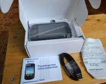 Телефон, смартфон haier w701. на2 симки, как новый, в Ростове-на-Дону