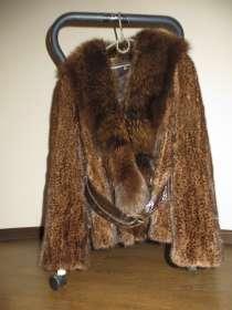 Шуба из норки(Италия) ххl размер груди 54,от плеча длинна 85, в г.Харьков