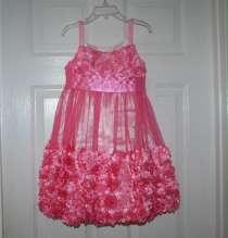 Платье нарядное 110 см 5 лет новое, в Москве