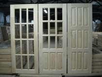 Двери деревянные филенчатые со склада и на заказ, в Москве