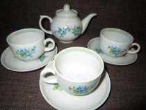 Фарфоровый чайный детский сервиз, Дулёво, в Краснодаре