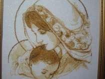 """Картина """"Мадонна"""" вышивка-счетный крест, в г.Джанкой"""