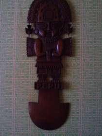 Перуанская деревянная маска, в г.Керчь