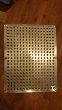 Изготовление вентиляционных и сливных решеток из нерж. стали, в Краснодаре